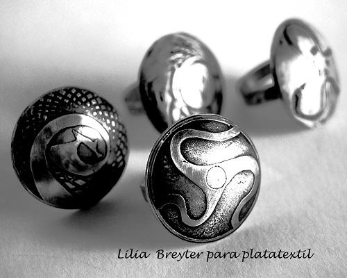 LIlia Breyter - Anillos Pucos plata