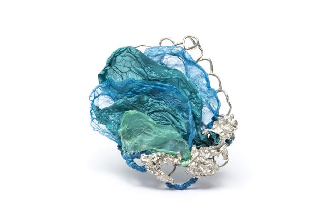 Mabel Pena - Reflexiones azules