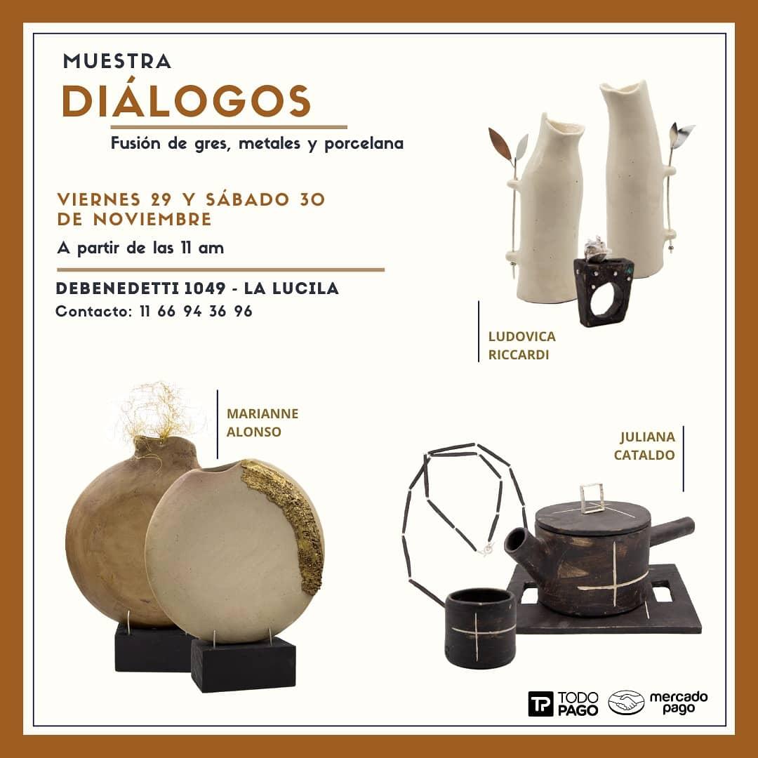 Diálogos, exposición de joyería y cerámica