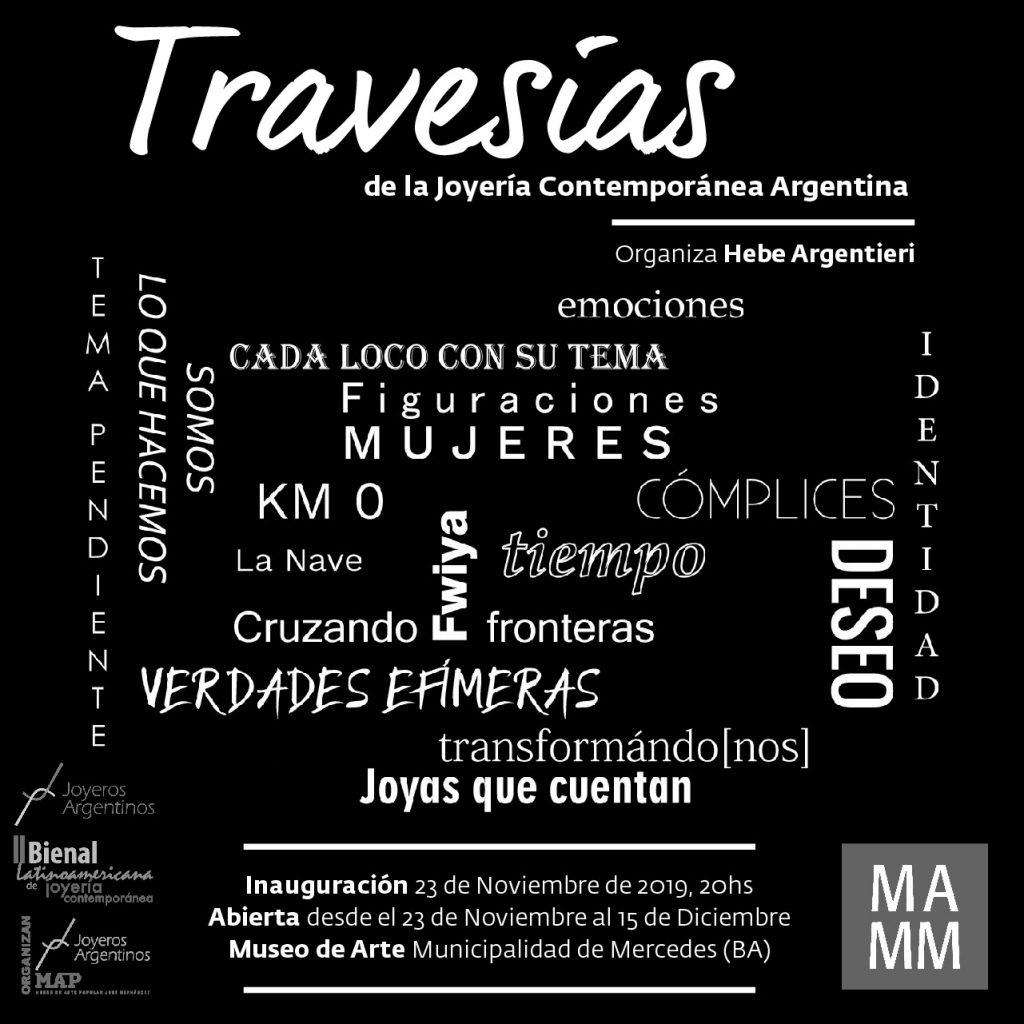 Este sábado inaugura Travesías en Mercedes!