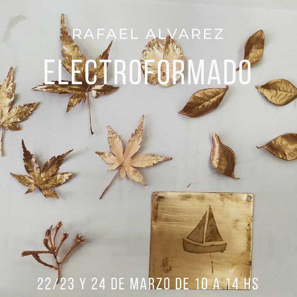 Dos talleres de electroformado en marzo