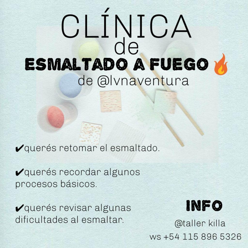 Clinica de esmaltado, a cargo de Luna Ventura